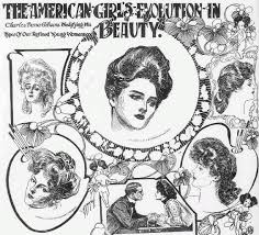 industrial revolution girls hairstyles 80 best gibson girls images on pinterest gibson girl charles