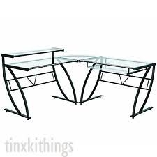 Corner Drafting Table Glass Computer Desk L Shaped Corner Drafting Table Architect