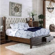 Bedroom Furniture Kingsize Platform Bed Bed Frames Rustic King Size Bed Frame Bedroom Furniture