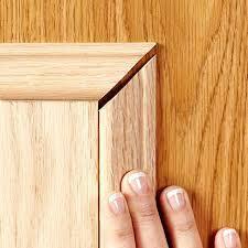 Molding Kitchen Cabinet Doors Adding Moulding To Old Cabinet Doors Nrtradiant Com