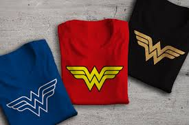 w superhero emblem svg file cutting template designed by geeks