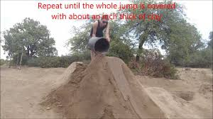 how to rebuild a bmx dirt jump in 10 steps youtube