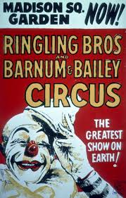 Barnes And Bailey Circus Vintage Ringling Bros And Barnum U0026 Bailey Madison Square Garden