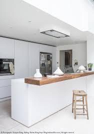 cuisine blanc laqué et bois 52 photos de cuisine blanche