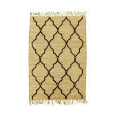4 u0027 x 6 u0027 rag rugs rectangle trellis fawn u2013 qolture