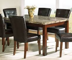 dining tables luxury faux marble top dining table set which
