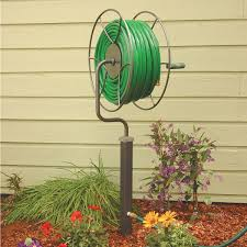 swivel hose reel post mount hose and accessories lawn care