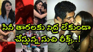 suchi leaks latest images of south indian celebrities leaked