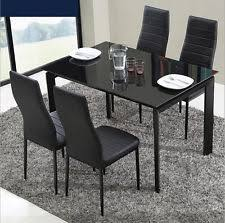 Dining Table 4 Chairs Set Table U0026 Chair Sets Ebay