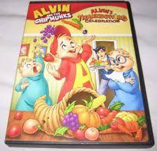 alvin and the chipmunks alvins thanksgiving celebration dvd