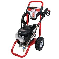 shop simpson 2600 psi 2 3 gpm water gas pressure washer at lowes com