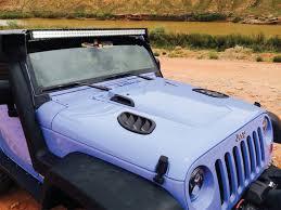 daystar jeep jk wrangler hood cowl reduce under hood