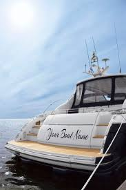 Boat Names by Your Own Boat Name With Icreatelabel Com Boat Decal Pinterest