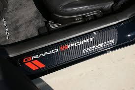 corvette grand sport accessories c6 corvette 2010 2013 door sill guards carbon fiber grand sport