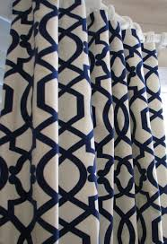 Navy Patterned Curtains Class3 91 Awesome Navy Patterned Curtains Images Ideas