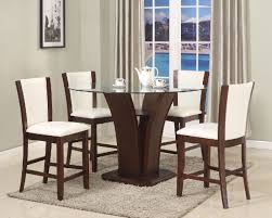 6 peice dining room set leather chairs for sale in kingston