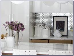 Stainless Steel Backsplash Tiles Houzz Tiles  Home Design Ideas - Cutting stainless steel backsplash