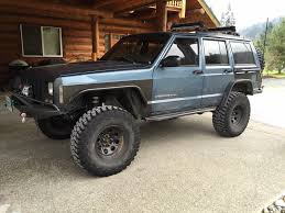 monster jeep cherokee finally steel tube fenders cherokeexj