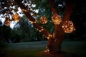 Hanging Lights Patio Creative Idea Hanging Lights Outside Tree On Trees