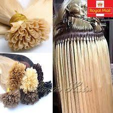 pre bonded hair extensions pre bonded human hair extensions ebay