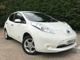 nissan leaf acenta range nissan leaf acenta white electric u0026 hybrid car specialists