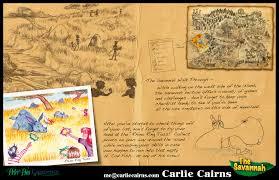 Map Of Neverland Visual Development U2013 Carlie Cairns