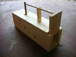 Small Woodworking Projects Plans For Free by Free Live Trap Plans For Building A Box Trap To Catch Rabbits
