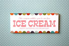 Kitchen Collection Printable Coupons July 17th Is National Ice Cream Day Here U0027s A Printable Coupon To