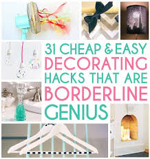 diy hacks home 10 awesome cheap home decor hacks and tips