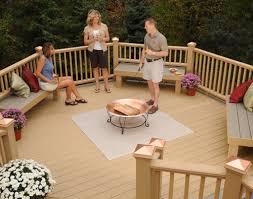 fire pit mat for wood deck outdoor goods