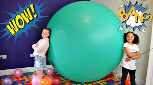 party in my bedroom super giant balloon stuck in my bedroom spiderman surprise eggs