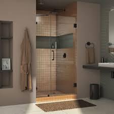 39 Shower Door Dreamline Unidoor 72 X 39 Hinged Frameless Shower Door With