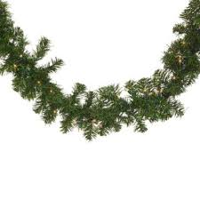 buy outdoor decorated lighted garland from bed bath beyond