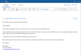 Format Of Mail For Sending Resume Email Format For Sending Resume Softballconcentrate Gq