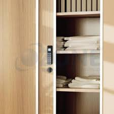 sliding wood cabinet door lock digital password lock sliding door cabinets wardrobes rs0 00