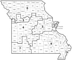 Map Of Missouri Counties Plenty Of Candidates In Mo 6th District Tri States Public Radio