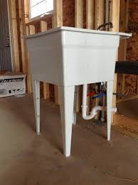 Utility Sinks For Laundry Room by Concrete Utility Sink Drain Best Sink Decoration