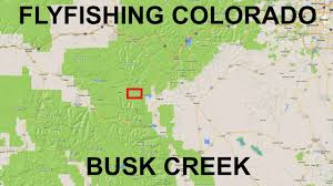 Conifer Colorado Map by Fishing Near Leadville Co Busk Creek Youtube