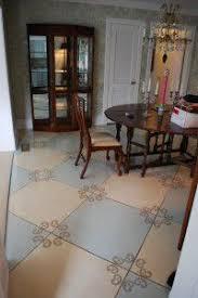 Decorative Floor Painting Ideas 86 Best House Painted Floors Images On Pinterest News Floral