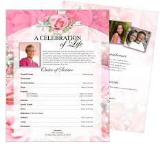 10 best images of funeral memorial flyers and brochures
