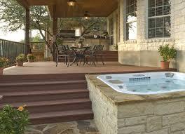 Austin Decks And Patios Spa Deck Archadeck Custom Decks Patios Sunrooms And Porch Builder