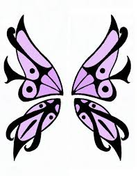 butterfly wings design by kili on deviantart