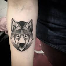 Forearm Wolf - of a polygon wolf by saruzi