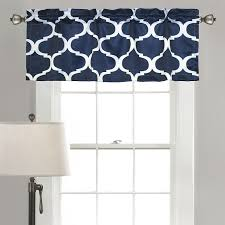 Valances Window Treatments by Amazon Com Lush Decor Geo Valance 18 X 52
