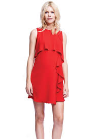 nursing dress francesa cascade ruffle nursing dress in by maternal america