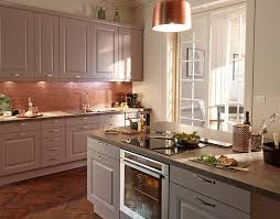 cuisine chaleureuse castorama cuisine candide lilas une cuisine qui charme et