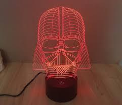 Night Light Kids Room by 3d Star Wars Darth Vader Led Light Table Lamp Night Light Kids