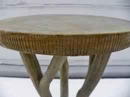 faux bois side table irving faux bois concrete side table mecox gardens