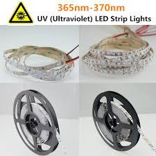 sold by meter 365nm 375nm uv ultraviolet led strip light 12v dc