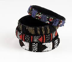 beaded bracelet leather images Kenyan beaded leather bracelet bracelets africa imports jpg